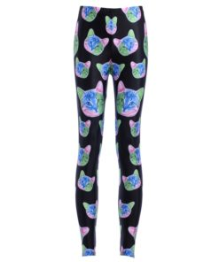 Leggings New Women Legging Fashion New Arrival New LEGGINGS Sexy Cat Digital Printing Trousers Leggings