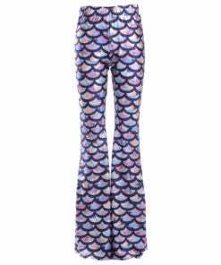 Kaleidoscope Mermaid Bell Bottoms 1