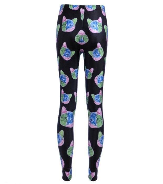 Leggings New Women Legging Fashion New Arrival New LEGGINGS Sexy Cat Digital Printing Trousers Leggings 1