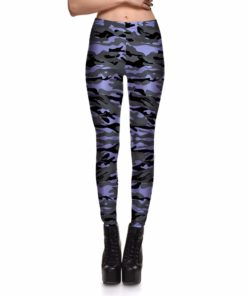 Camo - Grey/Purple
