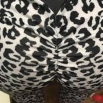 Booty Scrunched Leopard w Stripe photo review